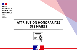 Attribution d'honorariats des maires