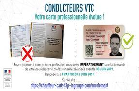 Carte Vtc 2019.Vtc Remplacement Et Securisation Des Cartes