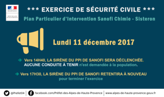BANNIERE - TWITTER - Exercice Securite Civile