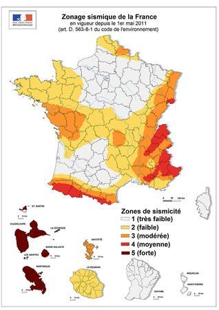 zone sismique france 2017-